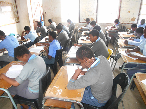 An examination centre is out of bounce to all except candidates and examination administrators.JPG